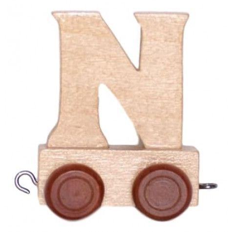 Lettertrein/naamtrein N