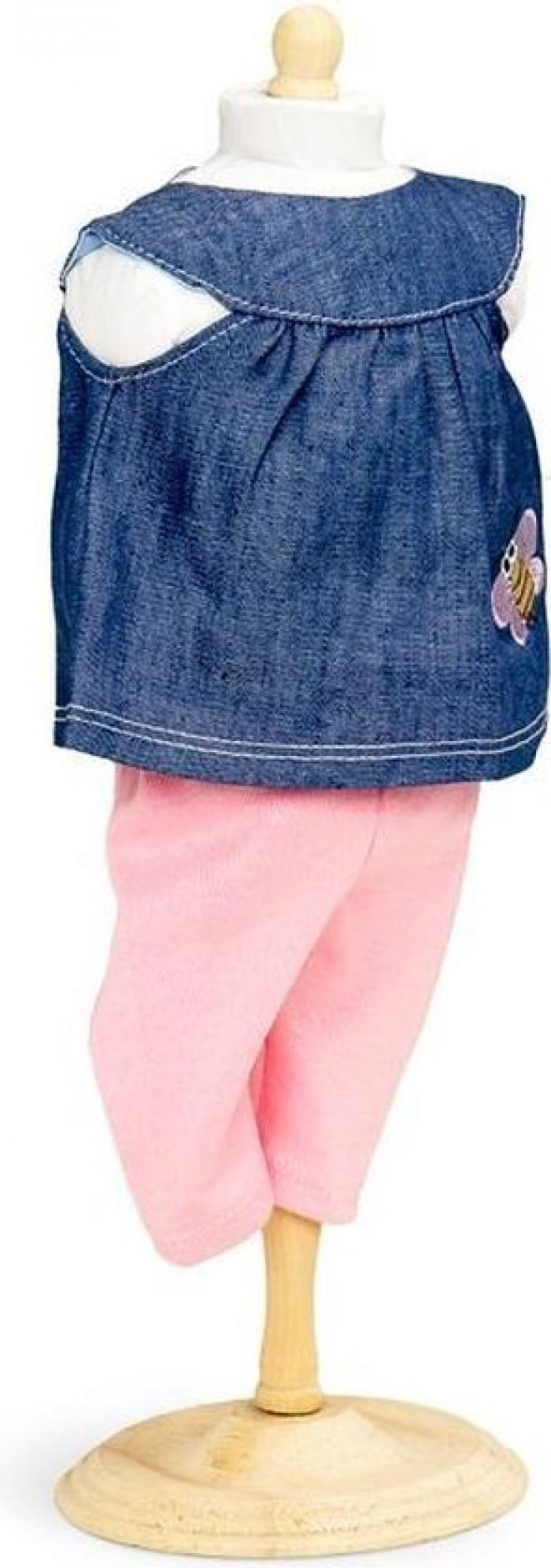 Denim tuniek met legging