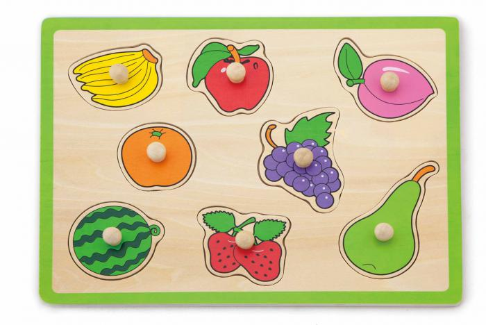 Viga puzzel 'fruit'