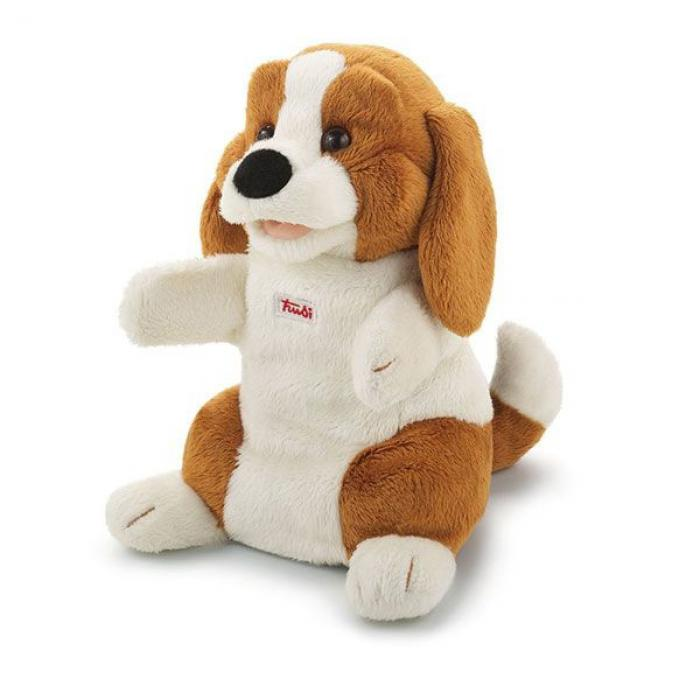 Handpop hond beagle